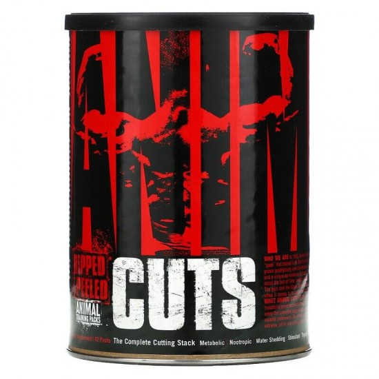 Universal Nutrition Animal Cuts Ripped & Peeled 42 Packs