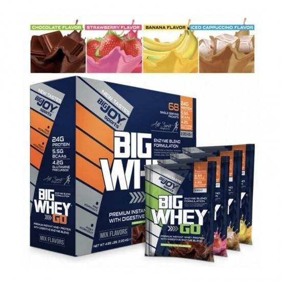 Big Joy Big Whey Go Protein 2201 Gr 68 Saşe Mix