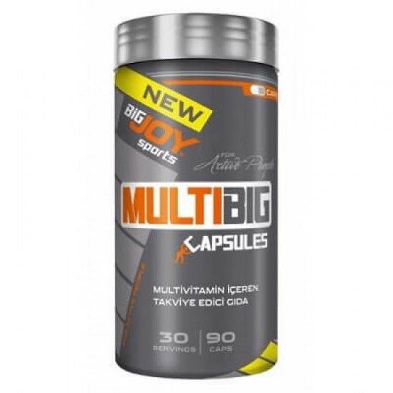 Big Joy Sports Multibig Vitamin Mineral 90 Kapsül