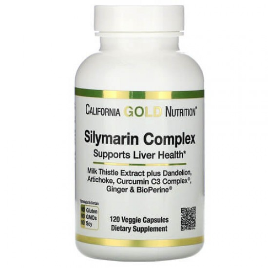California Gold Nutrition Silymarin Complex